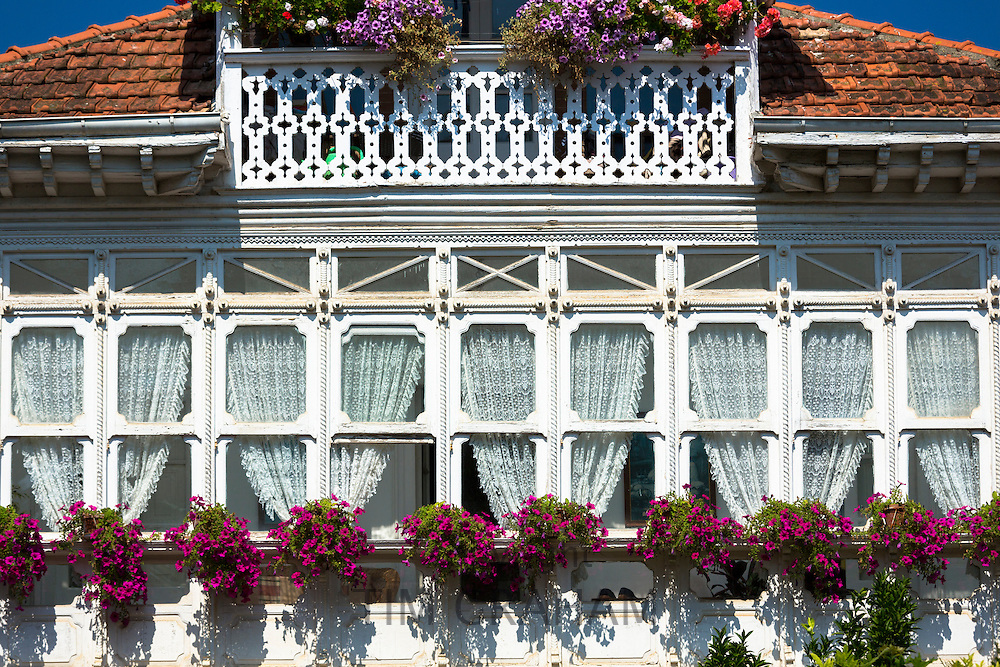 Meson La Corriente restaurant (Corriente House) at Comillas in Cantabria, Northern Spain