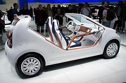 New Volkswagen UP! at Frankfurt Motor Show or IAA 2011 in Germany