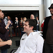 """Seattle Opera hosts the """"Barber of Seattle"""" closest shave competition at McCaw Hall on January 8, 2011."""