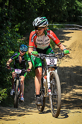 Groesbeek, The Netherlands - Dutch National Championship Mountain Bike :: Elite Women - 7th July 2013