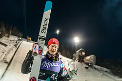 13.03.2018, Lysgards Schanze, Lillehammer, NOR, FIS Weltcup Ski Sprung, Raw Air, Lillehammer, im Bild Robert Johansson (NOR) // 3rd placed Robert Johansson of Norway during the 2nd Stage of the Raw Air Series of FIS Ski Jumping World Cup at the Lysgards Schanze in Lillehammer, Norway on 2018/03/13. EXPA Pictures © 2018, PhotoCredit: EXPA/ JFK