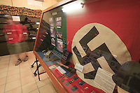 Nazi war memorabilia on display at the Townsville Military Museum.