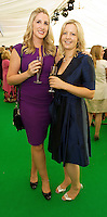 Carina Ryan, Dublin and Ciara O Grady Athenry  at the 57th Galway International  Oyster Festival. Photo:Andrew Downes.