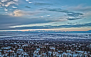 On my second day in Anchorage I drove the family truck into the Chugach Mountains South of town. From this high overlook I captured these HDR images of Anchorage, The Alaska Range, Cook Inlet and the ridges and valleys of the Chugach.