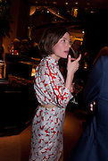 CAMILLA RUTHERFORD, Spectator Life - launch party, Asprey London, 167 New Bond Street, London. 28 March 2012