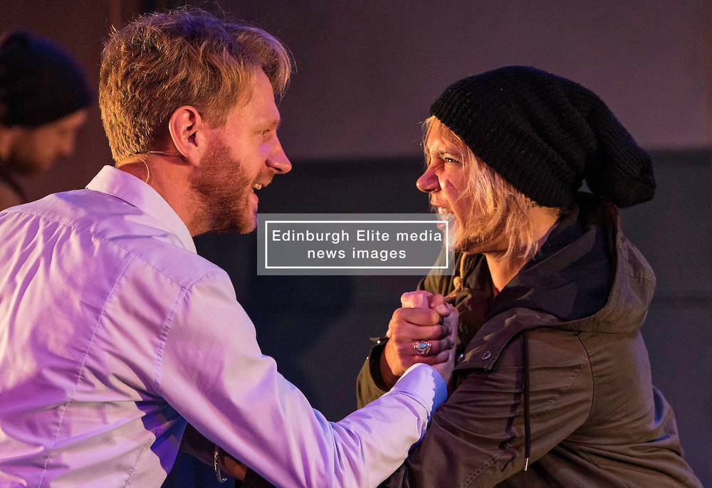 Anything That Gives Off Light is a new co-production from Brooklyn-based ensemble The TEAM and the National Theatre of Scotland at the Edinburgh International Festivl<br /> <br /> Featuring live music from the Scottish and American folk traditions, Anything That Gives Off Light is a foot-stomping collaboration exploring the tension between self-interest and sacrifice, as well as between the individual and the collective, in the pursuit of life, liberty and happiness.