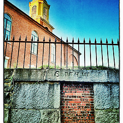"St. John's Church in Portsmouth, New Hampshire. iPhone photo - suitable for print reproduction up to 8"" x 12""."
