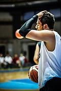 Alessandro Gentile<br /> Torneo Meridiana PalaAltoGusto Geovillage<br /> Banco di Sardegna Dinamo Sassari - Virtus Segafredo Bologna<br /> Olbia, 02/09/2017<br /> Foto L.Canu / Ciamillo-Castoria