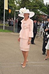 KATE SILVERTON at the 3rd day of Royal Ascot 2009 on 18th June 2009.