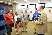 Tri-C P1213-135: Grand Opening event of the Cleveland Public Library Metro Campus reading room on Sept. 17, 2012.