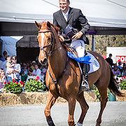 Boyd Martin (USA) and Kyra at the Red Hills International Horse Trials in Tallahassee, Florida.