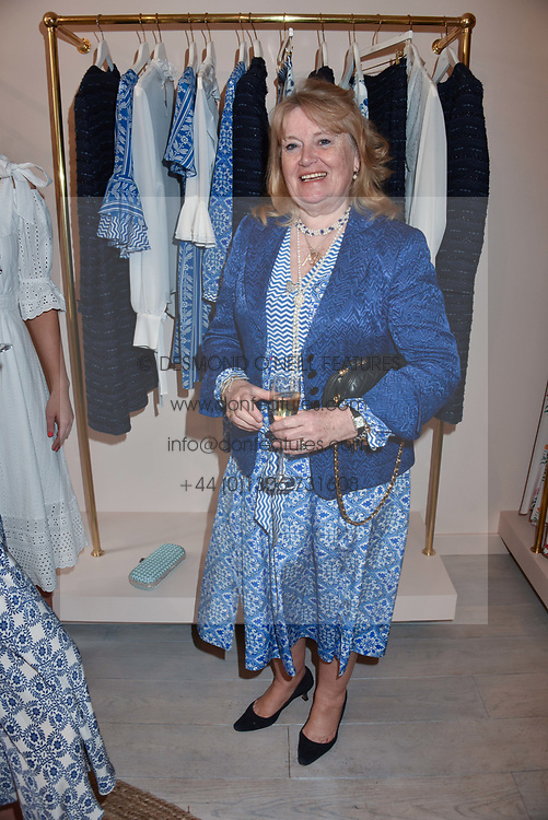 The Marchioness of Reading at the launch of the Beulah Flagship store, 77 Elizabeth Street, London England. 16 May 2018.