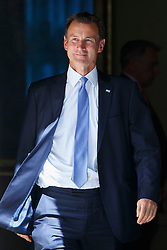 © Licensed to London News Pictures. 19/07/2016. London, UK. Health Secretary JEREMY HUNT attending the first cabinet meeting under Theresa May's leadership in Downing Street on Tuesday, 19 July 2016. Photo credit: Tolga Akmen/LNP