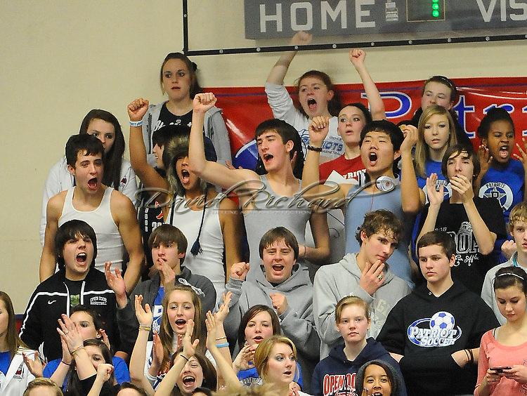 The Open Door boys varsity basketball team defeated visiting Lake Center Christian on January 14, 2011.