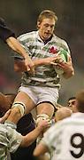Twickenham, England, RFU Twickenham Stadium, Surrey, 10.12.2002.<br /> 2002 Varsity Rugby - Oxford vs Cambridge<br /> Martin Purdy    [Mandatory Credit:Peter SPURRIER/Intersport Images]