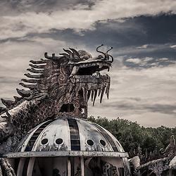 Vietnam - Abandoned water Park - Ho Thuy Tien