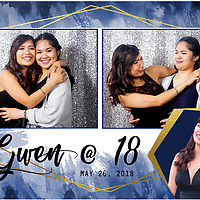 Gwen @ 18th Photobooth