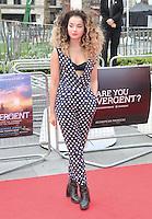 Elle Eyre, Divergent - European film premiere, Odeon Leicester Square, London UK, 30 March 2014, Photo by Richard Goldschmidt