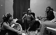 Peter Tosh with Sandra Izsadore in Lagos Nigeria 1981