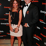 NLD/Noordwijk/20110625 - Orange Babies Gala 2011, Najib Amhali en partner Niama le Boudoir
