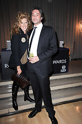 KELLY HOPPEN and ? at The Rodial Beautiful Awards in aid of the charity Kids Company held in the Billiard Room at The Sanderson, 50 Berners Street, London on 3rd February 2010.