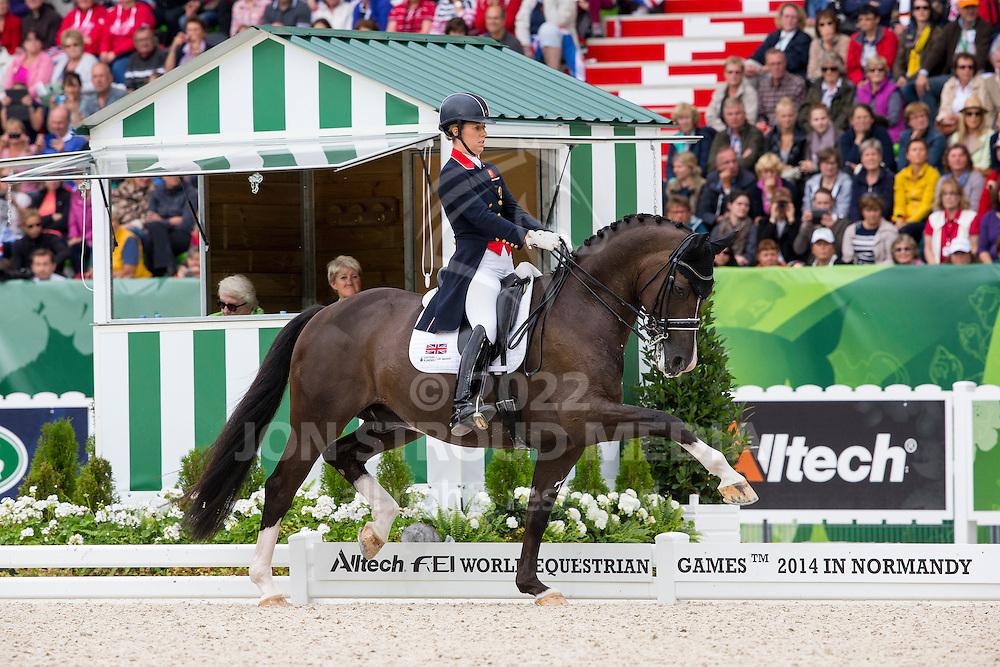 Charlotte Dujardin and Valegro winner Grand Prix Special - Grand Prix Special Dressage - Alltech FEI World Equestrian Games&trade; 2014 - Normandy, France.<br /> &copy; Hippo Foto Team - Leanjo de Koster<br /> 25/06/14
