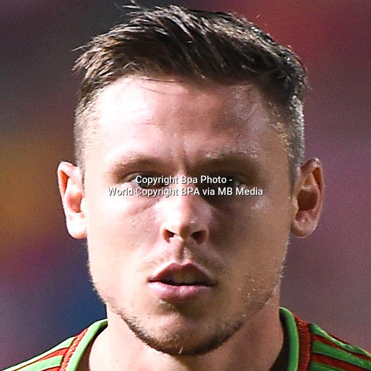 Uefa Euro FRANCE 2016 - <br /> Wales National Team - <br /> Simon Church