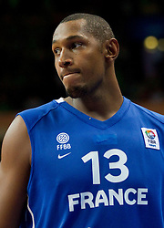 Boris Diaw of France during basketball game between National basketball teams of Lithuania and France at FIBA Europe Eurobasket Lithuania 2011, on September 9, 2011, in Siemens Arena,  Vilnius, Lithuania.  (Photo by Vid Ponikvar / Sportida)