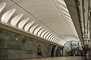 The Moscow Metro, inititated in 1935