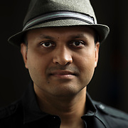 May 12, 2017 - New York, NY : Syed Ali poses for a portrait in his apartment in Bay Ridge, Brooklyn on Friday afternoon, May 12. Syed, who is a combat veteran with the United States Army and an officer with the New York Police Department, was detained at John F. Kenney Airport earlier this year when he returned from vacation overseas after his most recent deployment -- this despite having his Military ID and US Passport.  CREDIT: Karsten Moran for The New York Times