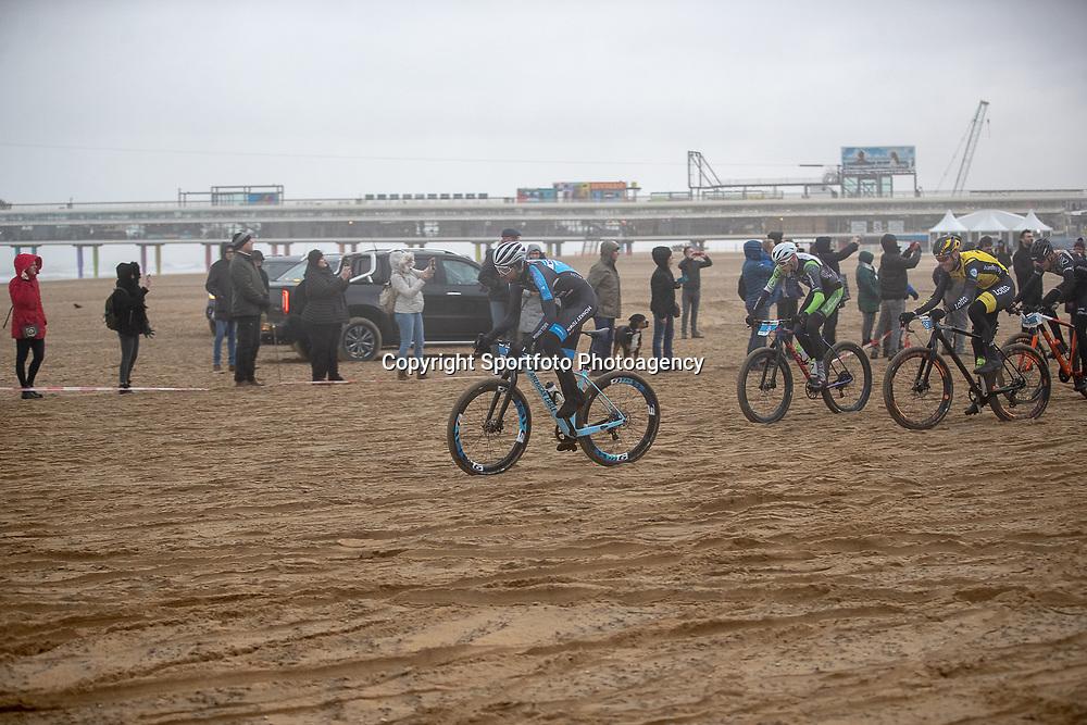 09-12-2018: Wielrennen: EK beachrace: Scheveningen<br />Jasper Ockeloen kon zijn titel niet verdedigen
