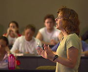 16505College of Health & Human Services College Brochure:CHHS:Classroom shots..Darlene Berryman's class in walter hall