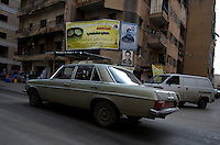 posters of hezbollah leaders and martyrs are never far away in southern lebanon....