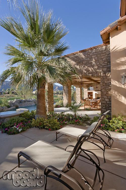 Luxurious residence exterior