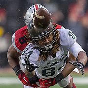 21 November 2015:  the game between the Ohio State Buckeyes and the Michigan State Spartans at the Ohio Stadium in Columbus, Ohio. (Photo by Khris Hale/Icon Sportswire)