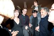 RITA DONAGH; RICHARD HAMILTON; BARRY JOULE, Gabriel Orozco reception, Tate Modern, London. 18 January 2010. .-DO NOT ARCHIVE-© Copyright Photograph by Dafydd Jones. 248 Clapham Rd. London SW9 0PZ. Tel 0207 820 0771. www.dafjones.com.