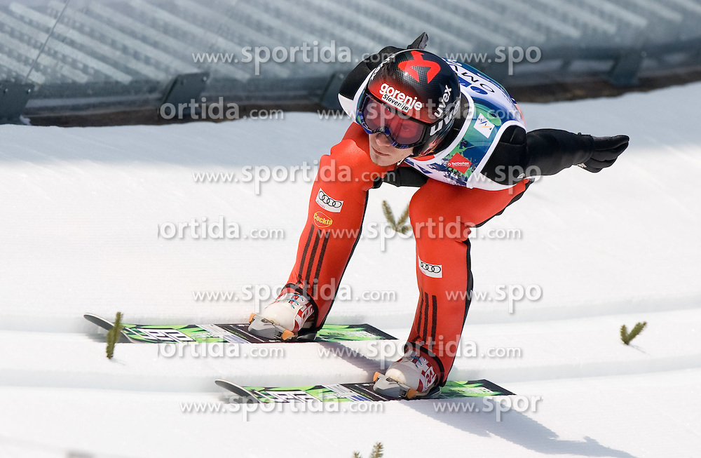 KRANJEC Robert, SK Triglav Kranj, SLO  competes during Flying Hill Individual Trial Round at 3rd day of FIS Ski Flying World Championships Planica 2010, on March 20, 2010, Planica, Slovenia.  (Photo by Vid Ponikvar / Sportida)