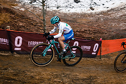 Chiara TEOCCHI of ITA during the Women Under 23 race, UCI Cyclo-cross World Championship at Bieles, Luxembourg, 28 January 2017. Photo by Pim Nijland / PelotonPhotos.com | All photos usage must carry mandatory copyright credit (Peloton Photos | Pim Nijland)