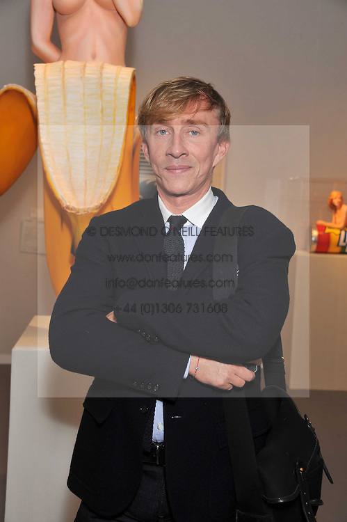 JASPER CORAN at the judging of the Moet Hennessy PAD  London Prize 2011 as part of the Pavilion of Art & Design  held in Berkeley Square, London on 10th October 2011.