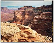 Canyonlands National Park, UT 10/28/2015<br /> View to the La Sals<br /> f/45, 1/8 second exposure on Kodak Ektar film<br /> Alex Jones / www.alexjonesphoto.com