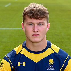 Ted Hill of Worcester Warriors - Mandatory by-line: Robbie Stephenson/JMP - 25/08/2017 - RUGBY - Sixways Stadium - Worcester, England - Worcester Warriors Headshots