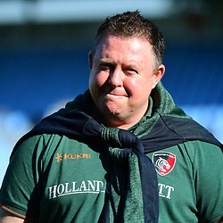 Leicester head coach Matt OConnor during the European Rugby Champions Cup match between Racing 92 and Leicester Tigers on October 14, 2017 in Colombes, France. (Photo by Dave Winter/Icon Sport)