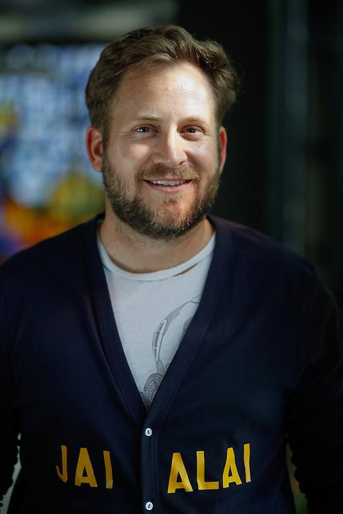 Miami poet  P. Scott Cunningham , an F.I.U. alumni, in Miami.