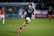 Crawley Town's Ashley Nadesan during the EFL Sky Bet League 2 match between Salford City and Crawley Town at the Peninsula Stadium, Salford, United Kingdom on 8 February 2020.