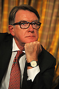 Labour Party Annual Conference<br /> Brighton<br /> 27-30 September<br /> Fringe meeting 'Securing Britain and Europe's Economic Future'<br /> organised by the Policy Network and City of London Corporation.<br /> Peter Mandelson, president of Policy Network.