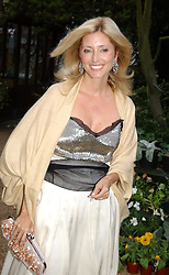PRINCESS MARIE CHANTAL OF GREECE at the annual Cartier Flower Show Diner held at The Physics Garden, Chelsea, London on 23rd May 2005.<br />