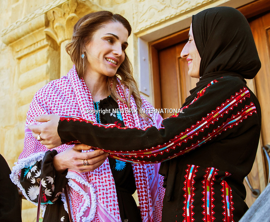 06.02.2017; Al Salt, Jordan: QUEEN RANIA<br />