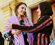 Queen Rania Visits Impact Projects, Al Salt