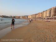Concha Beach in San Sebastian (Spain)