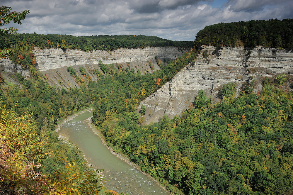 Canyon, Letchworth State Park, New York, USA